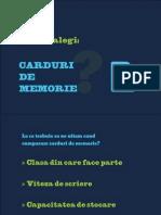 Carduri de memorie pentru aparatele foto