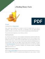 Five Amazing Healing Honey Facts