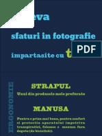 Sfaturi in fotografie utile de care e bine sa tii cont