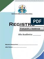 RegistrodeAsistenciayEvaluacion