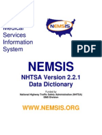 NEMSIS Data Dictionary v2.2.1 04092012