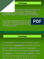 Definicion de Liderzago y Clase de Liderazgo