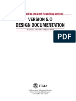 NFIRS 5.0 Design Documentation 1-2013