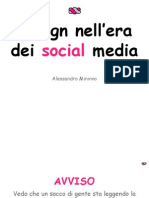 Design Nell'Era Dei Social Media