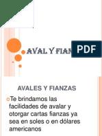 AVAL Y FIANZAS Diapositivas
