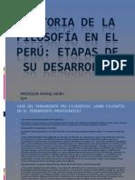 Historia de La Filosofia en El Peru Prof.