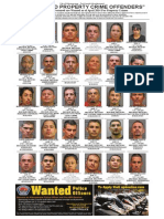 Most Wanted Property Crime Offenders, April 2014