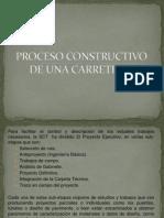 Proceso Constructivo de Una Carretera