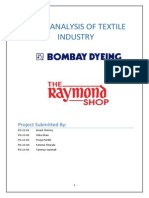 Ratio Analysis of Textile Industry