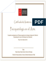 Certificado Coloquio Psicopatologia FINAL