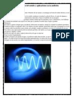 Propagación del sonido y aplicaciones en la audición