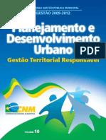10 Planejamento e Desenvolvimento Urbano
