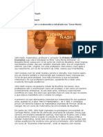 Biografia de John Nash