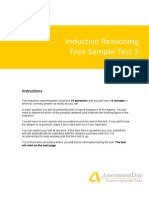 Inductive Reasoning Test2 Solutions
