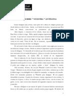 T080 - RUBIO y RALLÍ - Notas sobre ''nuestra'' Antígona