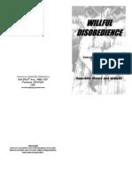 wolfi landstreicher - willful disobedience - number 1