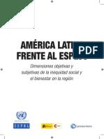 américa latina frente al espejo (SENTIMIENTO ECONÓMICO)