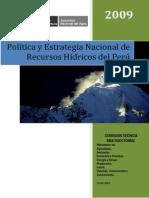 Politicas Estrategias Rh ANA 2009