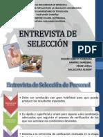 ENTREVISTA DE SELECCIÓN