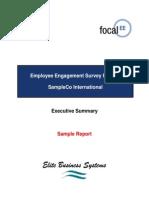 Sample Report - EE Executive Summary