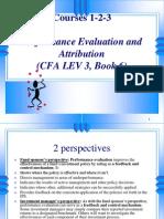 CFA Performance Evaluation Amp Attribution