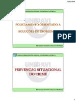 POP - Prevenção Situacional do Crime