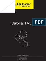 User Manual Jabra TALK US English