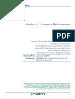 Aderência a tratamento medicamentoso 2009