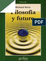 Filosofía y Futuro - Richard Rorty