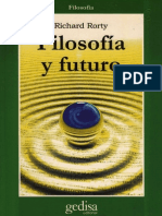 Filosofía y Futuro - Richard Rorty