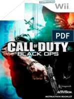 Call of Duty - Black Ops - Manual - WII