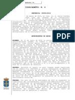 SJCA JCA4 OVI 07.03.14 ANULACION SANCION FUNCIONARIO-VINCULACIÓN CON EL ORDEN PENAL-AYTO CUDILLERO