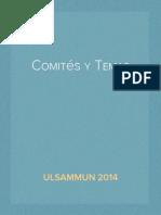 Comites y Temas