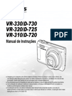Manual Olympus Camera  VR-330/D-730 VR-320/D-725 VR-310/D-720 PTB
