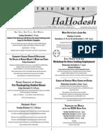 Novermber HaHodesh Web