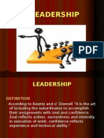 Leadership PPT
