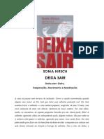 Sonia Hirsch - Deixa Sair