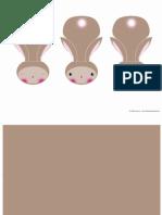Hasen Lesezeichen Conejos Marca Paginas Rabbits Bookmarks