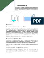 Principio Del Sifon