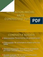 Actuacion Inicial Ante Conductas Suicidas