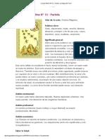 Oraculo Belline Nº 12 - Partida _ La Magia del Tarot