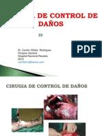 control de daños cirugia