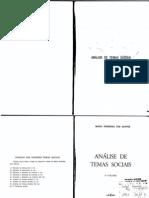 mario ferreira dos Santos - Análise de Temas Sociais 02