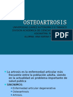 Osteo Artrosis