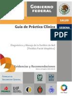 Guia de Practica Clinica . Paralisis Facial de Bell.