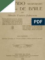 8. Zubicueta, 1908, Tratado de Baile