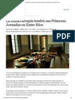 La musicoterapia tendrá sus Primeras Jornadas en Entre Ríos - Elentrerios