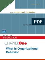 Organisational Behavior