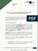 Fusión empresas DMG (de origén alemán) y MORI SEIKI (de origen japonés) para sus actividades en México. Empresa consultora Corbera Networks (actualmente The Integral Management Society)