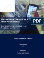 Tesis Doctoral de Jose Luis Serrano Sanches